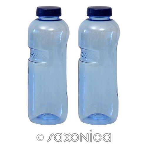 2er SET - Trinkflasche aus Tritan 0,75 Liter 410225 Sport Kinder Kavodrink BPA frei Wasserflasche