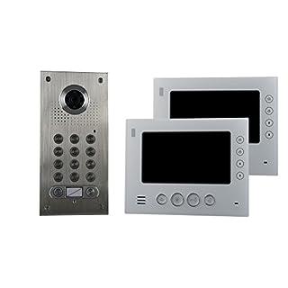 AE CK2-812S1-02 2 Fam. Code Colour Video Intercom Set 2