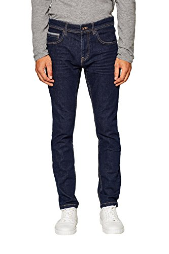 edc by ESPRIT Herren Skinny Jeans 088CC2B007, Blau (Blue Rinse 900), W32/L32