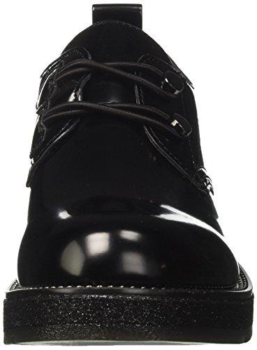 Noir Noir Femme Derbys Noir Lfh925010 Café WFSwOZq0a0
