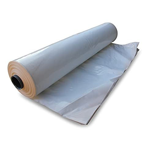 8m wide x 35m long, Shrink Wrap Roll, 180 micron