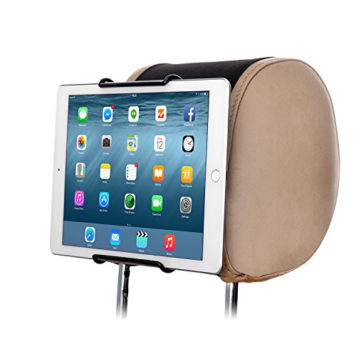 "TFY Universal-Auto-Kopfstütze Halterung für 7-Zoll bis 11-Zoll-Tablet PC - Apple iPad,iPad4(iPad 2&3),iPad Air(iPad5),iPad Mini 4, iPad Pro 9.7"" - Samsung Galaxy Tab 2,Galaxy Tab 3,Galaxy Note - Google Nexus 7,10 - Asus Transformer Book,MeMO Pad HD 7 - Microsoft Surface Pro,Surface RT - Dell Venue 8 Pro,Venue 7 - Lenovo IdeaTab - Sony Xperia Tablet Z und Andere"