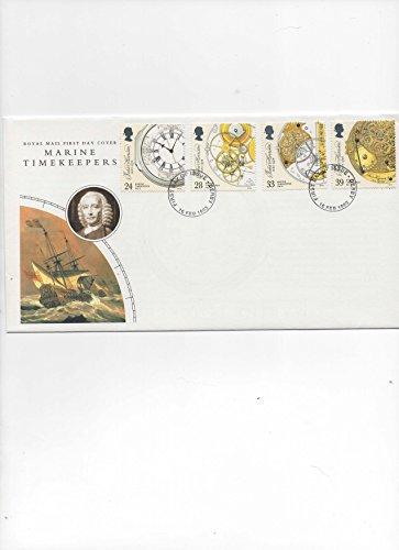 Marine Timekeepers Premier Jour Coque 1993 par  Royal Mail