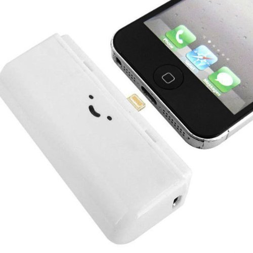 Price comparison product image First Quality G4GADGET® 2800mah Power Bank For Iphone 6 / 6PLUS / 5S / 5 / 5C Bank Mini Portable Pocket Size Battery Charger Compatible With iPad Mini , ipod - White