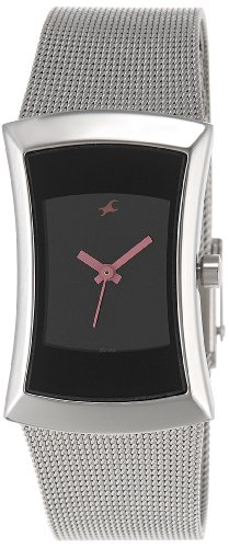 41w%2BohQES6L - 6093SM01 Fastrack Fits and Forms Women watch