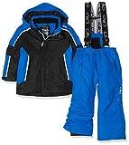 CMP Feel Warm Flat 3.000, Set Giacca E Pantaloni Imbottiti Bambini e Ragazzi, Nero, 116