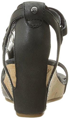 Teva Damen Capri Wedge W's Sport-& Outdoor Sandalen Schwarz (Pearlized Black 655)