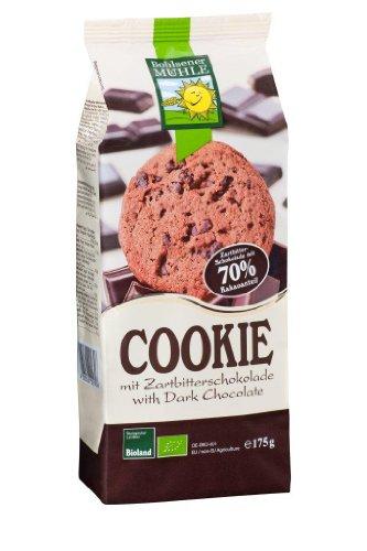 Bohlsener Mhle Cookie mit Zartbitterschokolade, 70% Kakao,7er Pack (7x 175 g) - Bio (Lebensmittel, Mühlen)