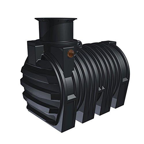 Stabilo-Sanitaer Kunststoff PE Erdtank Set-7 3300l Regenwassertank Zisterne Regenwasserspeicher Regenwasser Wassertank Regentank unterirdisch Garten