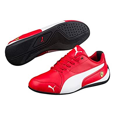super popular 58177 dd340 Puma Unisex Sf Drift Cat 7 Jr Rosso Corsa White Sneakers-3 UK India