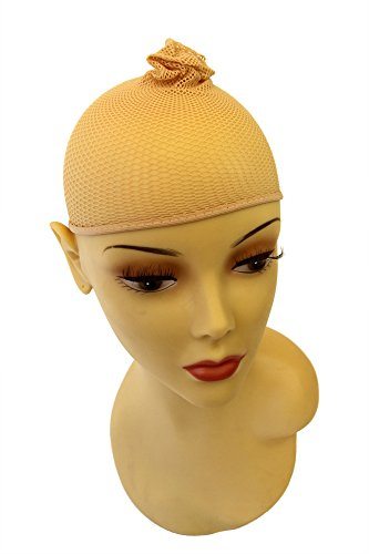 WIG ME UP Blondes Haarnetz, Perückenunterziehhaube (Herren Lange Perücken)