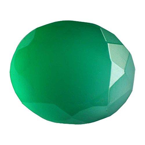 Green Onyx Stone Green Onyx Gemstone Chalcedony Gemstone Lab Certified Natural Gemstone 8.65 Carat Astro Gemsstone