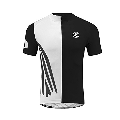 5d163f916 BurningBikewear Uglyfrog Mens Short Sleeve Cycling Jersey Breathable Shirts  Full Length Zipper Cycle Tops Casual Sportswear