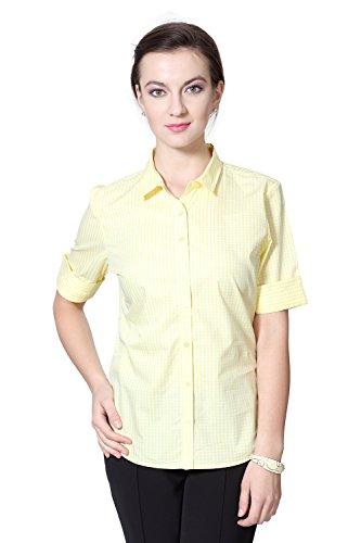 Allen Solly Women Regular Fit Shirt_awts515r00380_xs_yellow