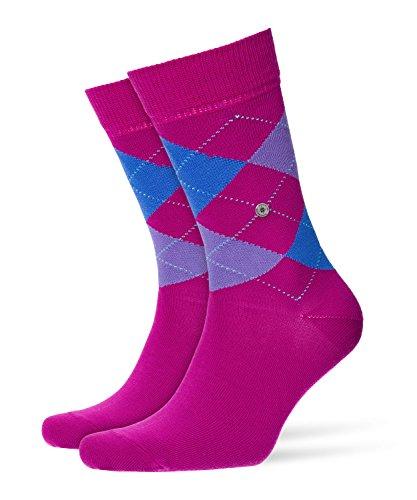 Burlington Damen Queen modische Socken, Blickdicht, pink (Magenta 8020), 36/41 (Herstellergröße: 36-41)