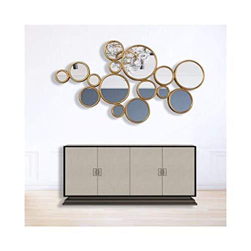 GWFVA Spiegel Wand, große Multi Form Kreise Metall Wand skulptur Kunst wandbehang d \u0026 Eacute; COR - Kreise-wand-skulptur