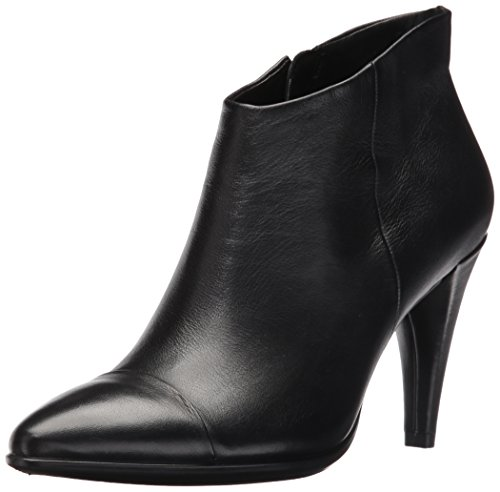 Ecco Damen Shape 75 Pointy Kurzschaft Stiefel, Schwarz (11001black), 41 EU (Toe Boot Pointy)