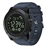 CHCUAN T1 Tact Militär-Grade Super Tough Smartwatch Outdoor Sport Armbanduhr Herren Digital Wasserdicht Schrittzähler Kalorienzähler Multifunktion Bluetooth Smart Watch