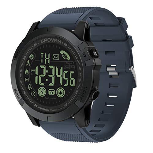 c38ce18cddf9 T1 Tact Grado Militar Super Resistente Reloj Inteligente Reloj de Deportes  al Aire Libre Mens Digital