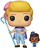 Funko- Figurines Pop Vinyl: Disney: Toy Story 4: Bo Peep w/Officer McDimples Collectible Figure, 37391, Multi