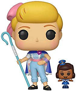 Funko- Pop Vinilo: Disney: Toy Story 4: Bo Peep w/Officer McDimples Figura Coleccionable, (37391)