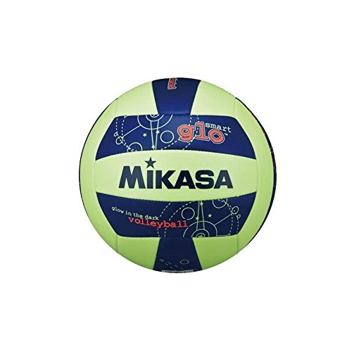 Mikasa VSG Glow in The Dark Beachvolleyball, Fluoreszierend, 5 (Glow In The Dark-volleyball)