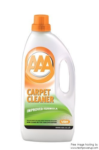 2xVax AAA Standard Carpet Cleaning Solution 1.5L