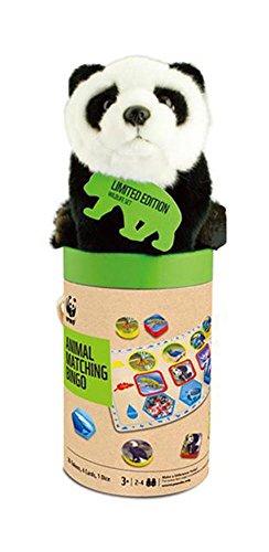 WWF 091-pan-Jeu de Table, Set Bravo avec Peluche Panda