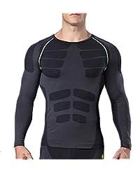 Collants de vêtements de sport de yoga pour hommes, séchage rapide respirant