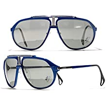 Ultra Rare Lunettes de soleil Aviateur Killy Cartier 469 Carbon Bleu a026c5fff225