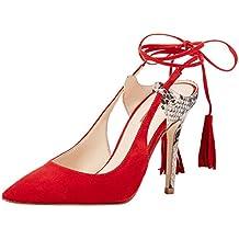 ef46f97ac11 Amazon.es  zapatos rojos de tacon - GUESS