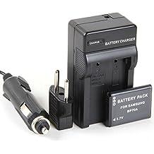Disko - Cargador + Batería BP70A EA-BP70A 750mAh para Samsung AQ100, ES65,