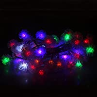 ALED LIGHT® 5M 50 LEDs luce palla chuzzle RGB Per il Giardino Intorno Alla Casa / Sala Da Concerto / Sala Matrimoni / Ristorante / Centro Commerciale / Albero Di Natale (RGB)