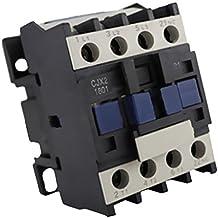 MagiDeal CJX2-1810 24-380V AC Coil 3-Phase 1NO 50 / 60Hz Relé del Motor Contactor Relé - 220v
