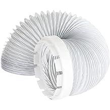 Manguera de Ventilación y Adaptador Kit para Indesit Secadora de Ropa (2 Metros, 4 '' de Montaje)