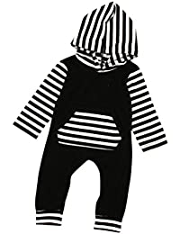 Tefamore Sudadera con capucha de cremallera Abrigo de Bebé de Otoño Invierno para Niños