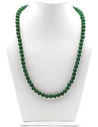 Rare n Care Green Jade Stone Mala