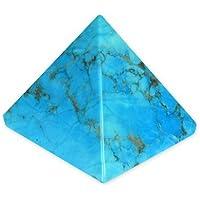 CrystalAge Türkis Howlith Pyramide–yht5–Groß preisvergleich bei billige-tabletten.eu