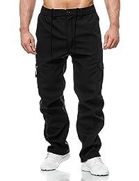 999cd42edcb7 ArizonaShopping - Hosen Herren Cargo Hose Arbeitshose Gefüttert Workwear  H2000