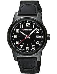 WENGER Herren-Armbanduhr Analog Quarz Leder 01.0441.140