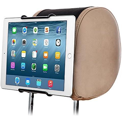 TFY Soporte Universal para Reposacabezas de Coche, admite TODAS las Tablet PC de 7 a 11 Pulgadas
