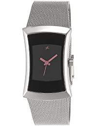 Fastrack Fits & Forms Analog Black Dial Women's Watch - 6093SM01