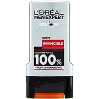 L'Oréal Paris Men Expert Invincibile Gel Doccia Uomo, Profumo Intenso Massima Seduzione, 300 ml