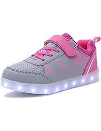 LED Schuhe Jungen Mädchen Turnschuhe USB Lade Flashing Schuhe Kinder LED leuchtende Schuhe