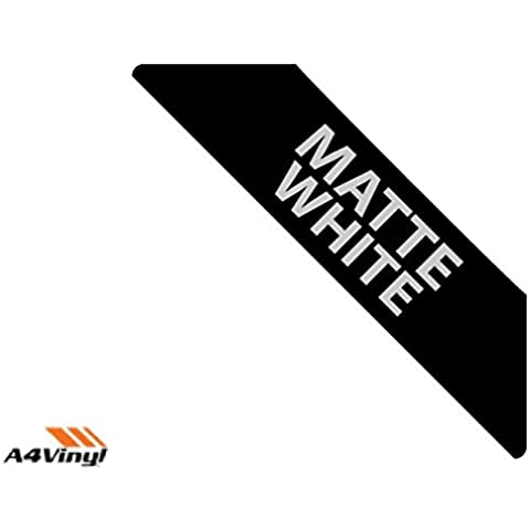 Vinilo imprimible A4 en blanco 297 x 210 mm mate 3 x AUTO-adhesivo papel adhesivo