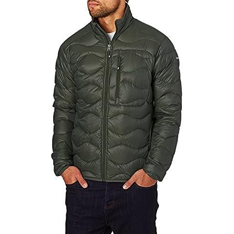 Peak Performance–Chaqueta de snowboard Helio Jacket, color oliva-negro, tamaño S