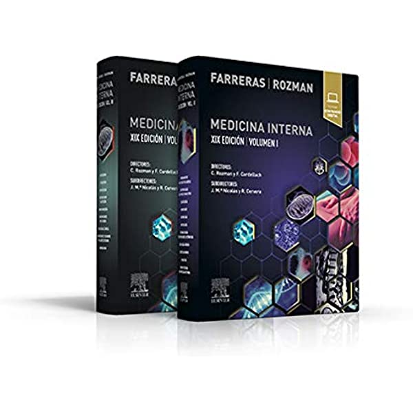 Farreras Rozman. Medicina Interna - 19ª edición Español Tapa ...