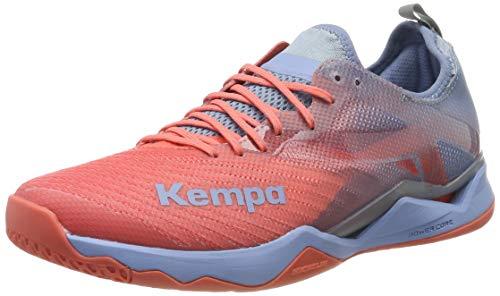 Kempa Unisex-Erwachsene Wing LITE 2.0 Women Handballschuhe, Grau (Corail/Gris Lilas 01), 41 EU
