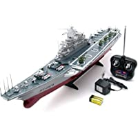 1:275 4 Channel RC Remote Control Aircraft Carrier Boat Battleship ship warship - Compare prices on radiocontrollers.eu