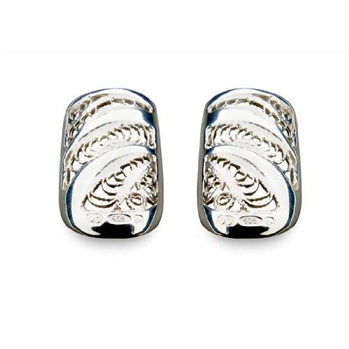 Boheme - Joyas para uñas plata, talla L, la razón: cordón del vintage (2 Pack)